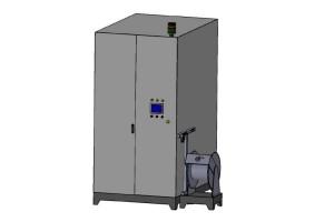 Yüksek Basınçlı Sıcak Sulu Yıkama Makinası